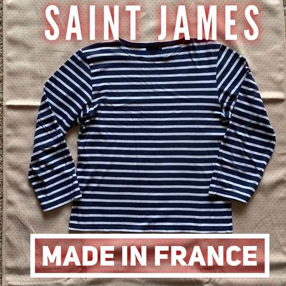 Saint James Other - ⚡️Saint James France original navy stripe Breton